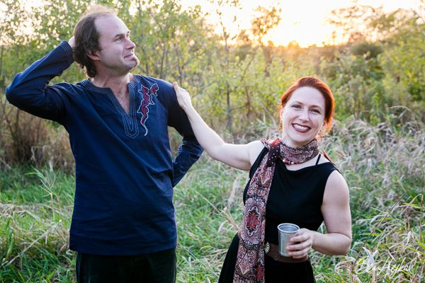 Ted & Ruby Off Grid Blues 2012: Laughing